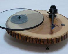 Audiowood El Blocko Turntable