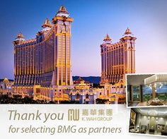 Thank You K.Wah Group for Selecting BMG as Partners!