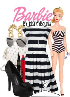 """""""Barbie 1959"""" by lalakay ❤ liked on Polyvore"""