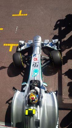 2013 Monaco Petronas AMG Mercedes W04 Lewis Hamilton