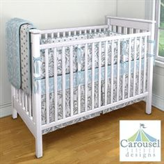 My Carousel Designs Custom Baby Bedding - Love the colors together..site allows you to design your own baby bedding.