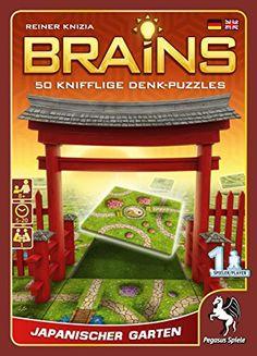 Brains - Japanese Gardens in Board Games. Pegasus, 999 Game, Strategy Games, Puzzles, Board Games, Brain, Ludo, Japanese Gardens, Puzzle