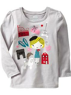Long-Sleeve Graphic Tees for Baby | Old Navy