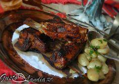 Coaste la cuptor Tandoori Chicken, Ethnic Recipes, Food, Essen, Meals, Yemek, Eten