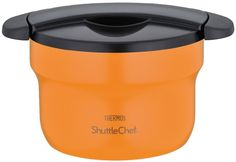 Amazon.com - THERMOS vacuum thermal insulation cooker shuttle chef 1.6L apricot KBF-1600 APR -