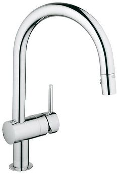 Features:  -Minta collection.  -Grohe SilkMove®.  -Grohe StarLight®.  -Pull down.  -180° Swivel spout.  -Flexible connection hoses.  Product Type: -Standard bathroom faucet.  Material: -Brass. Dimensi