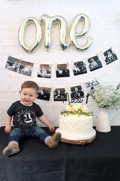 First birthday photography, first birthday themes, first birthday . - First birthday photography, first birthday themes, first birthday … - Boys First Birthday Party Ideas, 1st Birthday Themes, First Birthday Pictures, Baby Boy First Birthday, Boy Birthday Parties, Cake Birthday, Themed Parties, First Year Pictures, 1st Birthday Decorations Boy