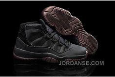 "https://www.jordanse.com/air-jordans-11-matte-custom-all-black-shoes-for-sale-online.html AIR JORDANS 11 ""MATTE"" CUSTOM ALL BLACK SHOES FOR SALE ONLINE Only $93.00 , Free Shipping!"
