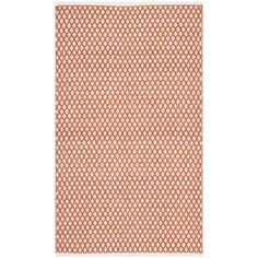 @Overstock - Using Moroccan inspired designs with a plush 0.4-inch pile height, this soft cotton rug is a welcoming touch of cushion to your tired feet.http://www.overstock.com/Home-Garden/Hand-loomed-Moroccan-Orange-Cotton-Rug-5x-8/7668137/product.html?CID=214117 $178.99
