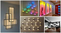 Scroll down to take a look in 15 unique LED light for your house walls that look as your dream.