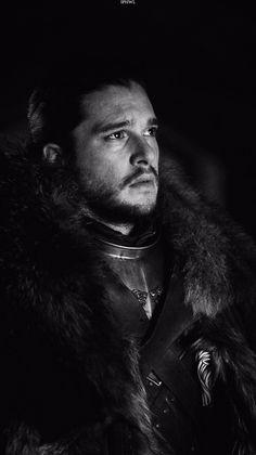 Kit Harington as Jon Snow in the Game of Thrones TV series