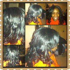 Curls and layered