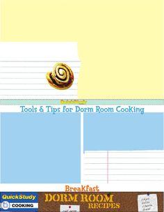 Dorm Room Recipes