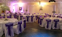 A festive Winter Wonderland wedding in our Woodland Suite for Paul and Evonnie, arrangements by Flower Design