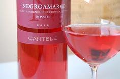 Cantele Negroamaro Rosato Negroamaro makes great rose wines as well as reds