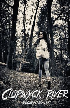 Scared girl running. Teenage girl running scared away from camera in woods , Girl Running, Movie Trailers, Winter Jackets, River, Woods, Graphics, Image, Creative, Illustration