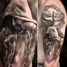 Image result for boxing tattoo sleeve