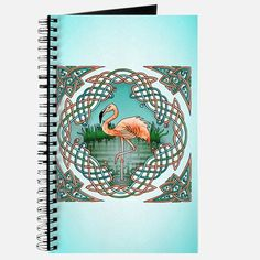 Celtic Flamingo Art Journal for