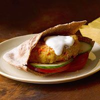 Delicious and healthy  http://www.fitnessmagazine.com/recipe/skillet-seared-chickpea-bulgur-burgers/?sssdmh=dm17.719548&esrc=nwfitdailytip020214