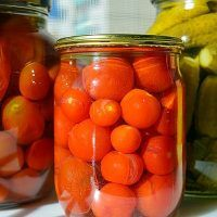 Recept : Nakládaná rajčata | ReceptyOnLine.cz - kuchařka, recepty a inspirace Tomato Relish, Canned Tomato Sauce, Tomato Basil, Fermented Cabbage, How To Can Tomatoes, Food Industry, Sauerkraut, Everyday Food, Beetroot