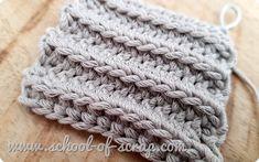 Free Crochet, Knit Crochet, Crochet Hats, Crochet Stitches, Crochet Patterns, Lana, Free Pattern, Knitting, Handmade