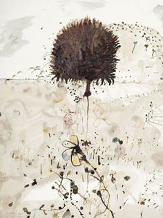 JOHN OLSEN born 1928 Echidna and Ant 1979 watercolour on paper 60.0 x 50.0 cm signed and dated lower left: John Olsen 79 inscribed lower left: Echidna and Ant Provenance: Private collection, Melbourne  Estimate: $18,000 - 24,000