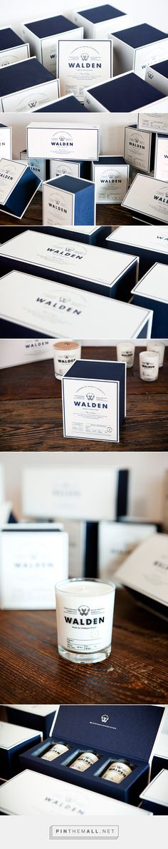 WALDEN - natural soy candle brand based in Korea