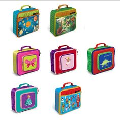 Crocodile Creek Lunch Box - School lunches are more fun when packed in our line of beautifully-designed, sturdy, high-quality lunch boxes. Simply wipe with a damp cloth after each use. $16.19
