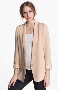 Just bought this beautiful blazer! Truth and Pride Silk Blazer | Nordstrom