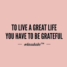 Tag somebody you are grateful for and then tell them why!!  Take the FREE 3-day #BossBabe starter course by clicking the link in our profile!!