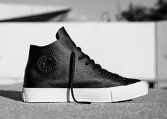 5ca5f2bb7d34 Converse s Prime Star Collection refines the Chuck Taylor with tumbled  leather
