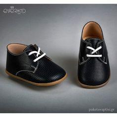 Μπλε Δερμάτινα Παπουτσάκια για τα Πρώτα Βήματα Everkid 9120Μ Boy Christening, Oxford Shoes, Converse, Dress Shoes, Loafers, Boys, Sneakers, Bedroom, Fashion