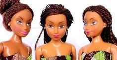 """Little Girls In Nigeria Have Replaced Barbie With """"Queens of Africa"""" Dolls"""