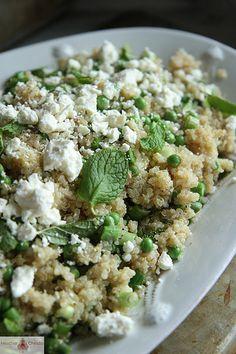 Spring Quinoa Salad with Feta