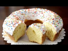 Colored Sugar, Easter Recipes, Bagel, Doughnut, Italian Recipes, Nutella, Latte, Cake Recipes, Cheesecake