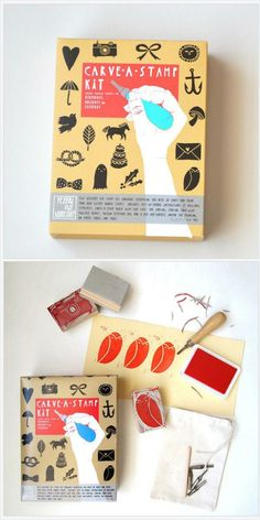 CARVE-A-STAMP KIT Make Your Own Stamp DIY Craft Activity Kit https://www.at-lotus.com/collections/bestsellers/products/carve-a-stamp-kit-make-your-own-stamp-diy-craft-activity-kit