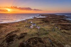 "My Celtic Heart - ""The Deserted Island of Inishsirrer"" Off coast..."