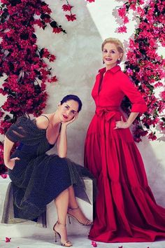 Carolina Herrera Red gown Ch Carolina Herrera, Fashion Bible, Red Gowns, Mom Dress, Gowns Of Elegance, Mothers Dresses, Tabata, Classic Outfits, Elegant Dresses
