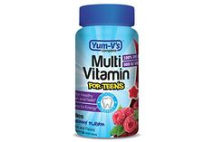 YumVs Complete Multivitamin and Mineral for Teens Jellies Raspberry 60 Count ** Be sure to check out this awesome product. Jelly Gummies, Multivitamin Mineral, Vitamins For Energy, Pantothenic Acid, Hair Vitamins, Folic Acid, Biotin, Calorie Diet, Love Mom