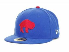 6bdb2becdd2 Buffalo Bills NFL Official On Field 59FIFTY Cap Hats want this hat  buffalo   flatbrim