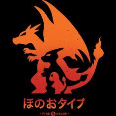 Mega Fire womens shirt http://geek.ragebear.com/pts7n
