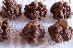 These were described to me as ferrero rochers, they are less like ferrero rochers and more like a chocolate bite hence the name. Using your...