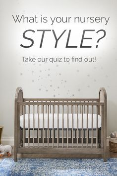 We all have a different sense of style -- so what's yours? take our nursery style quiz to find out! Baby Nursery Furniture, Baby Nursery Decor, Nursery Neutral, Nursery Design, Girl Nursery, Nursery Ideas, Scandinavian Nursery, Baby Nursery Organization, Kids Room Wall Art