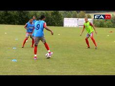 England Under 19's Training Session - YouTube