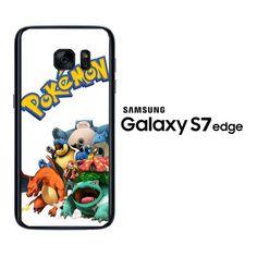 Squirtle Wartortle Blastoise Pokemon Y0041 Samsung Galaxy S7 Edge Case