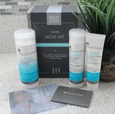 Go back to school with clear skin and  #PaulasChoiceSkinCare Clear Acne Kit! #spon #PrimpLovesPaula