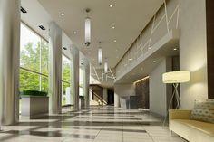 Modern Condo Lobby
