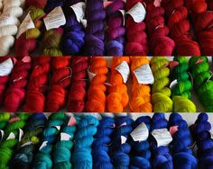 I STILL haven't tried Wollemeise - I MUST. Her colours are AMAZING.