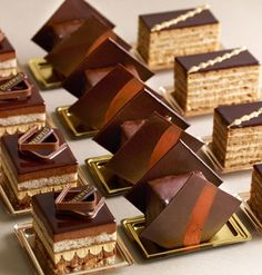 For all those who enjoy delicious chocolate! Gourmet Desserts, Mini Desserts, Plated Desserts, Chocolate Desserts, Chocolate Lovers, Elegant Desserts, French Desserts, Patisserie Fine, Decoration Patisserie