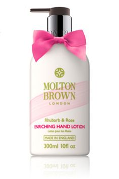 """45 Magical Beauty Buys To Discover #refinery29  http://www.refinery29.com/indie-beauty-shops#slide4  """"This hand lotion has rhubarb extract and moisturizing rose oil to instantly hydrate and leave behind a delicious scent."""""""